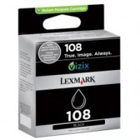 Original Genuine Lexmark 108 Black (14N0332A) Ink
